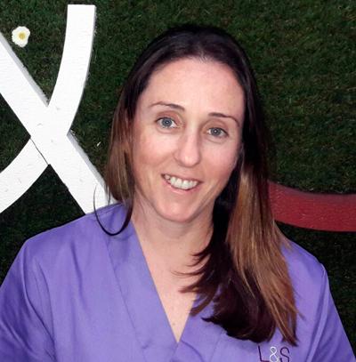 Cristina Serna, fisioterapia